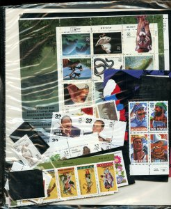 US 1996 Commemorative Year Set $40 Stamps & Mounts Included FREEshipping US&CDA
