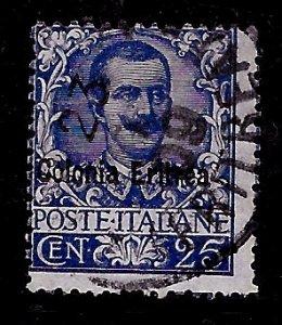 Eritrea # 24, Used. CV $ 18.00
