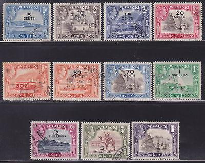 Aden 16-27 VF-used set nice colors scv $39 ! see pic !