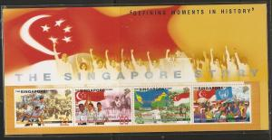 Singapore 857 1998 History s.s. MNH