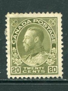 Canada #119 Mint VF    - Lakeshore Philatelics
