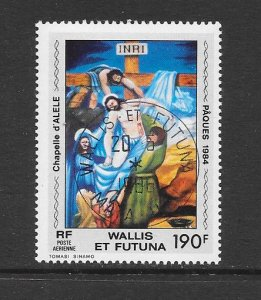 WALLIS & FUTUNA #C132  ART-DESCENT FROM THE CROSS  CANCELLED