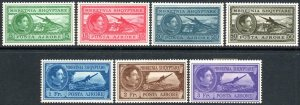 ALBANIA-1930 Air Set of 7 Sg 288-294 MOUNTED MINT V40617