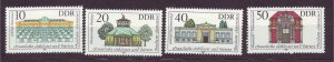 J23264 JL stamps 1983 DDR germany set mnh #2373-6 buildings