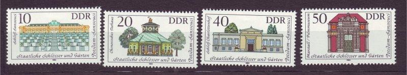 J23264 JL stamps 1983 DDR germany set mnh #2373-6 buildings