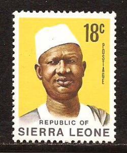 Sierra Leone  #  429  Mint  N H