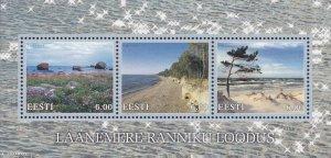Estonia 2001 #424 MNH. Baltic landscapes