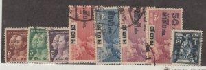 Thailand Scott #225-232 Stamps - Used Set