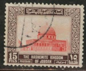 Jordan Scott 331 Used watermarked 1954 type stamp