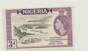 Nigeria Scott #94, Mint Never Hinged MNH, Centennial of the Founding of Victo...