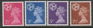 Isle of Man 1971 Sc 8-11 complete set MNH