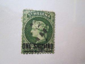 Saint Helena #16 used  2019 SCV = $35.00