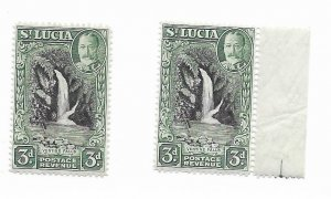 St. Lucia #100 MNH - Stamp - CAT VALUE $1.40 PICK ONE
