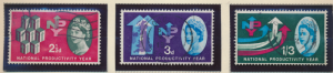 Great Britain Stamps Scott #387p To 389p, Used, Phosphor - Free U.S. Shipping...