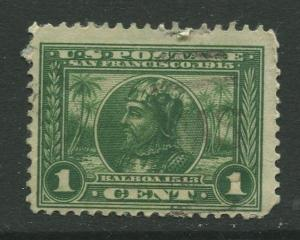 STAMP STATION PERTH USA #397 Panama Pacific Expo 1913 Used CV$2.00