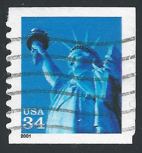 US #3476 34c Statue of Liberty