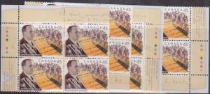 Canada #1761 Mint MS Imprint Blocks VF-NH 1998 John Peter Humphtry  Author