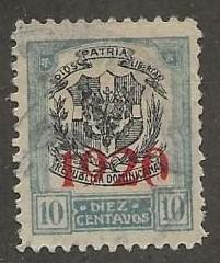 DOMINICAN REPUBLIC SC #  224  USED