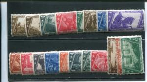 Italy  #200-305, C40-41 Mint F-VF   -  LSP