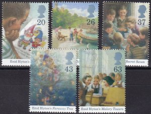 Great Britain #1771-5 MNH CV $4.00 (Z5035)