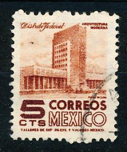 Mexico #857 Single Used