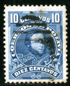 BOLIVIA #74, USED - 1901-02 - BOLIVIA25