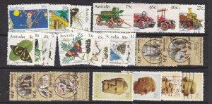 AUSTRALIA ^^^^#857//888b etter used   collection ( TOPICALS)  $$@lar862aust
