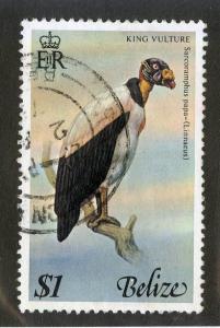 Belize 403 Used SCV $6.00 BIN $2.40 King Vulture