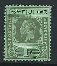 Fiji  GV  SG 134d  MVLH DIE II