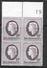Ross Dependency L8 MNH PB