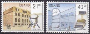 Iceland #698-9 MNH CV $7.50  (Z6425)
