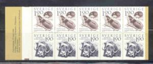 Sweden Sc 1489a 1984 Lemmings Musk Ox stamp bp mint NH