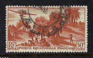 FRENCH EQUATORIAL AFRICA C31 VFU Z377
