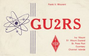 7210 Amateur Radio QSL Card  ST. PETER PORT GUERNSEY