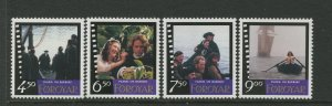 STAMP STATION PERTH Faroe Is.#324-327 Pictorial Definitive Iss.MNH 1997 CV$10.00