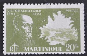 DYNAMITE Stamps: Martinique Scott #216 – UNUSED