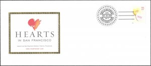 3833 Mint,OG,NH... Hearts in San Francisco Cachet... Very nice!