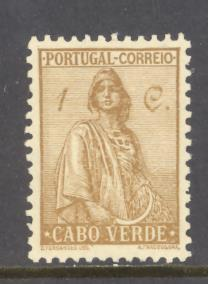 Cape Verde Sc # 215 mint hinged (RS)