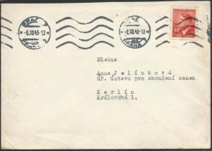GERMANY OCCUPATION CZECHOSLOVAKIA 1943 cover ex Prag.......................49253