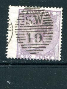 Great Britain #27d  thick paper Used VF