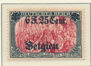 Belgium, German Occupation Stamp Scott #N25, Mint Hinged - Free U.S. Shipping...