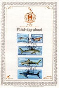 Ciskei - 1983 Sharks FDS SG 38-42