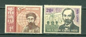 VIETNAM  PORTRAITS  #305-306  MNH...$2.75