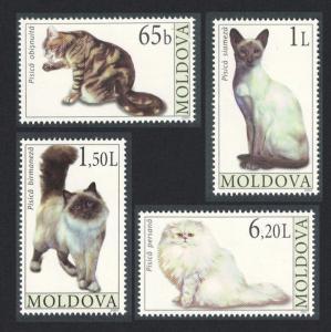Moldova Cats 4v SG#578-581