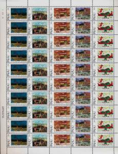 Palau 32a sheet MNH Christmas, Art, Paintings