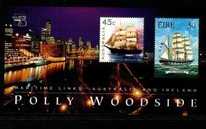 IRELAND SGMS1224 1999 IRELAND-AUSTRALIA JOINT ISSUE MNH