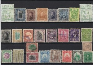 guatemala old stamps ref r12807