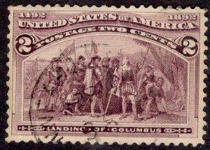 US Stamp #231 USED SCV $.30