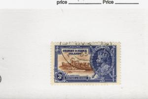 1935 Gilbert & Ellice Islands SCOTT #35 used stamp