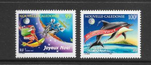 FISH - NEW CALEDONIA #770-1 PORPOISE  MNH
